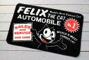 フィリックス・ザ・キャット 玄関マット 室内 バスマット 滑り止め  FELIX THE CAT AUTO_FM-KGAZF423C-MON