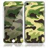 iPhone 7 スキンシール 前面 背面 保護 シール BZ22/グリーンカモ I7-BZ22