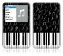 DecalSkin iPod classic スキンシール YU38/ピアノ