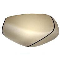 2輪 グロンドマン 国産シートカバー ベージュ/黒パイピング(張替) 品番:GH17SC330P10