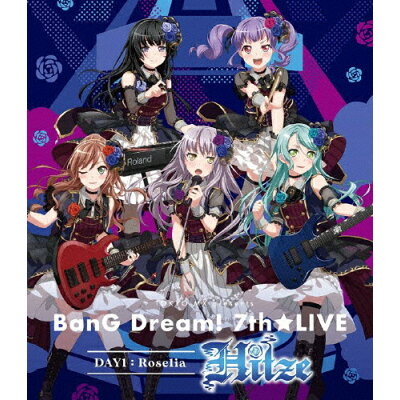 TOKYO MX presents「BanG Dream! 7th☆LIVE」 DAY1:Roselia「Hitze」/Blu-ray Disc/BRMM-10231