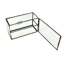 ガラスコレクション ケース ワイド ブラス GLCOWIBR