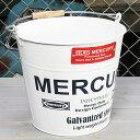 バケツ マーキュリー MERCURY ホワイト MC-C118WH-MCR