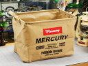 MERCURY マーキュリー キャンバス レクタングルボックス M サンドベージュ MECARBME