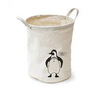 小物入レ 収納 ゴミ箱 アニマルコットンバレル ラウンドS ペンギン