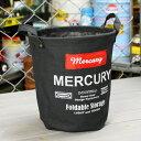 MERCURY キャンバスバケツ S 小物入れ ゴミ箱 バケツ