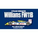 1/12 フルディティールキット Williams FW11B Ver.A 1987 イギリスGP モデルファクトリーヒロ HIRO K473 Williams FW11B Ver.A
