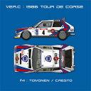 1/12 フルディテールキット Delta S4 Ver.C :1986 WRC Rd.5 Tour de Corse モデルファクトリーヒロ K523 Delta S4 ツールドコルス