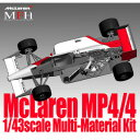 1/43 Mclaren MP4/4 Ver.B モデルファクトリーヒロ HIRO K527 Mclaren MP4/4 Ver.B