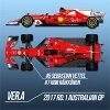 1/12 プロポーションキット Ferrari SF70H Ver.A モデルファクトリーヒロ HIRO K607 フェラーリ SF70H Ver.A