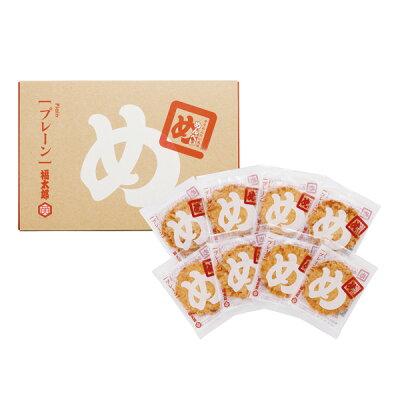 山口油屋福太郎 辛子めんたい風味 めんべい プレーン 2枚X8