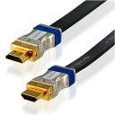 ハイパーツールズ HDMIケーブル HM-FLT-1M