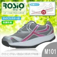 健康シューズ ロシオ M-101 23.0cm ピンク