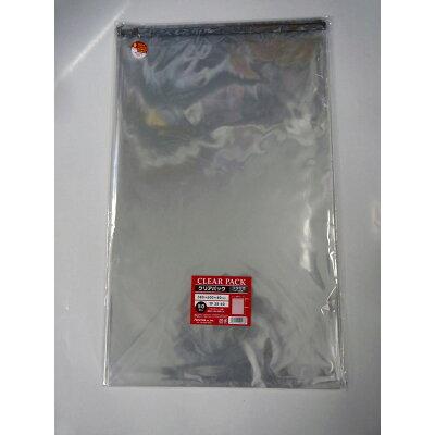 カクケイ フタ付透明OPP袋 テープ付 30μ50枚TP38-60 / TP 38-60