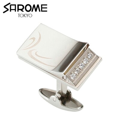 SAROME TOKYOカフリンクス EXCL7G クリア EXCL7G-01
