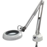 LED照明拡大鏡 フリーアーム・クランプ取付式  ENVL-F×3