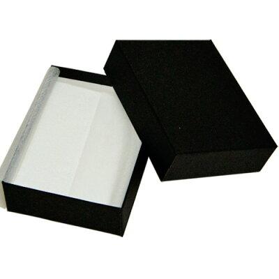 ジュエリーケース アクセサリーケース B88 紙製 黒 フリータイプ