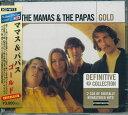 (2枚組輸入盤)ママス&パパス/THE MAMAS&THE PAPAS GOLD:SCD-W12