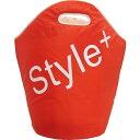 STYLE+ ランドリーバッグ レッド LC-994