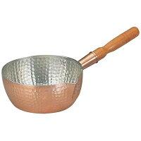 丸新銅器 銅製雪平鍋 18cm AYK07018