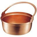 MARUSHIN/丸新銅器 銅 山菜鍋 内側錫引きなし 30cm