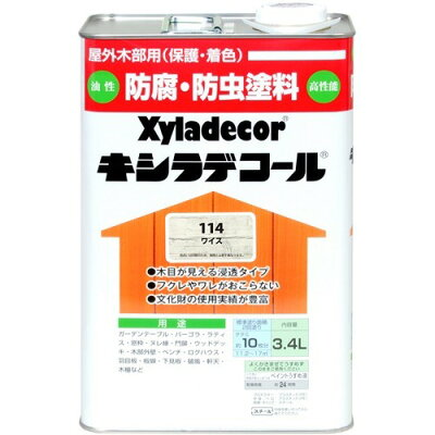 JEC キシラデコール#114 角缶 3.4l