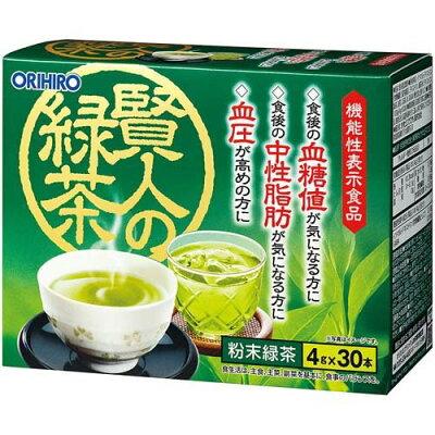 オリヒロ 賢人の緑茶(4g*30本入)