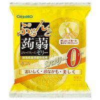 ぷるんと蒟蒻ゼリー 新パウチ 0kcaL グレープフルーツ(18g*6コ入)