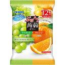 ぷるんと蒟蒻ゼリー パウチ マスカット+オレンジ(20g*12コ入)