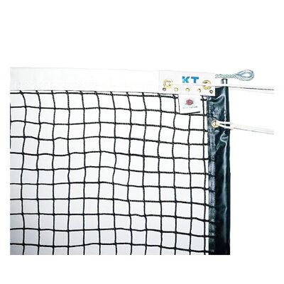 KT1223 KTネット 全天候式無結節 硬式テニスネット サイドポール挿入式 センターストラップ付き 日本製