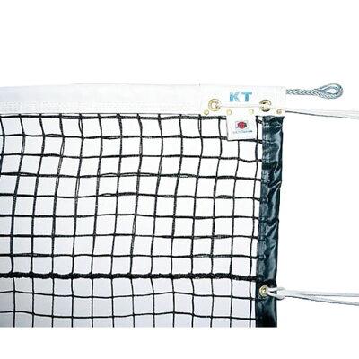 KT1257 KTネット 全天候式上部ダブル 硬式テニスネット センターストラップ付き 日本製