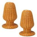 籐帽子スタンド 2個 GNM112P 1017873