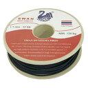 スペクトラ・ダイニーマ・ロープ 1.5mm径 50m/巻 黒 SD-15-50BK 1060545