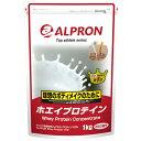 アルプロン トップアスリートシリーズ ホエイプロテイン100 WPC カフェオレ 1kg