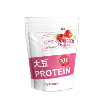 アルプロン 大豆プロテイン100 イチゴミルク風味 1kg