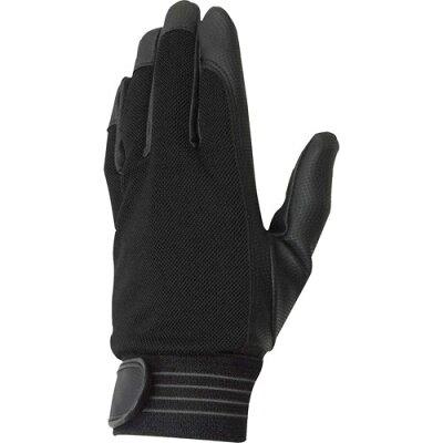COVER WORK PU甲メリマジック付手袋 FT-3714 ブラック S(1双)
