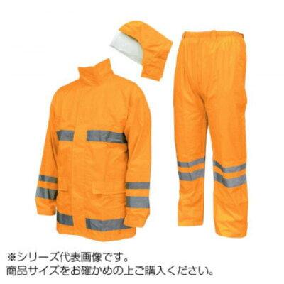 COVERWORK カヴァーワーク セーフティーレイインスーツスクード S 蛍光オレンジ F-8400