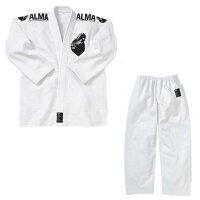 ALMA アルマ 国産柔術着 M00 白 上下セット JU1-M00-WH