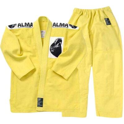 ALMA アルマ 国産柔術着 M0 黄 JU1-M0-YL