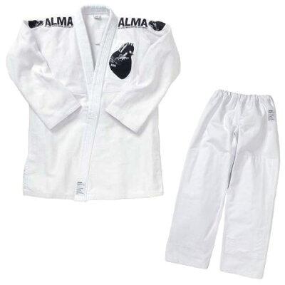 アルマ ALMA 海外製柔術着 A1 白 白帯付 JU2-A1-WH