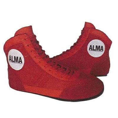 アルマ ALMA グラップリングシューズ 27cm 赤 GSS1-27-RD