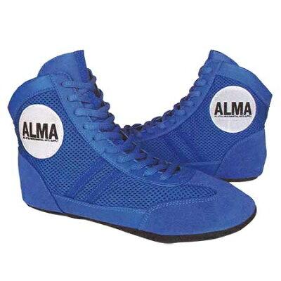 アルマ ALMA グラップリングシューズ 27cm 青 GSS1-27-BU