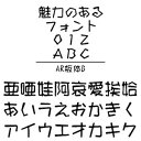 AR板体B Windows版TrueTypeフォント