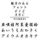 AR行楷書体H (Windows版 TrueTypeフォントJIS2004字形対応版)