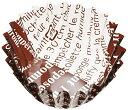 大黒工業  業務用 おかずカップ ル フィルムケース ブラウン 5F 底直径35×H20 500枚 3775074
