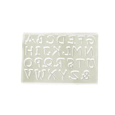ソフトモールド アルファベット大文字M T-736