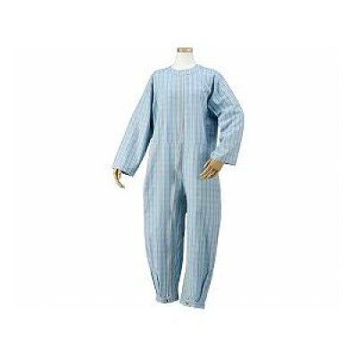 ハートフルウェアフジイ ハートフルつなぎパジャマ L HP06-100 03ブルー