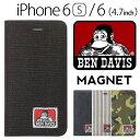 スマホケース 手帳型 iPhone6 BEN DAVIS ベンデイビス BDW-9079 bendavis2-306