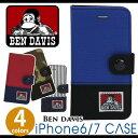 スマホケース 手帳型 iPhone6 カード BEN DAVIS ベンデイビス BDW-9080 bendavis2-307