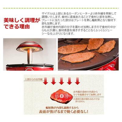 ティ・ユー・エフ 赤外線ロースター JAPAN-ZAIGLE PLUS